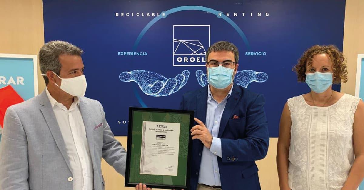 certificado residuo cero