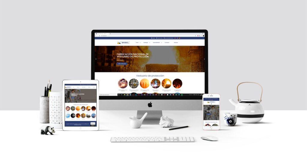 nueva página web Oroel