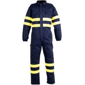 Buzo multibolsillos de ropa de protección