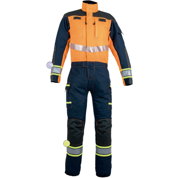 Ropa de protección, buzo reforzado para rescate técnico