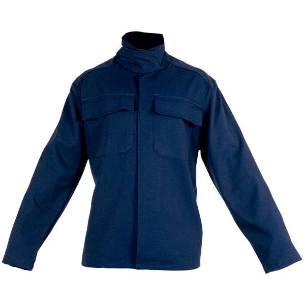 Ropa de protección con camisola sin puños en calor, llama y gran salpicadura