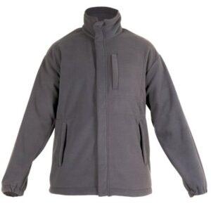 Forro polar cerrado con cremallera en ropa de protección contra riesgos electrostaticos