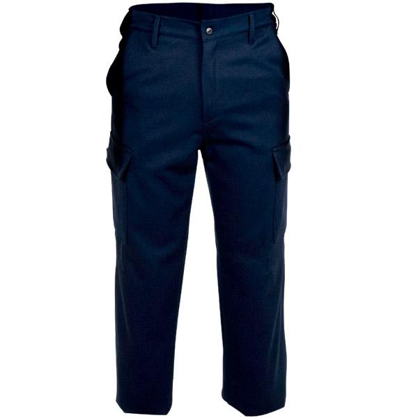Pantalon con cremallera sin reflectante en ropa de protección para calor, llama y gran salpicadura