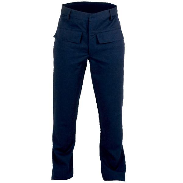 Ropa de trabajo, pantalon cerrado para calor, llama y gran salpicadura