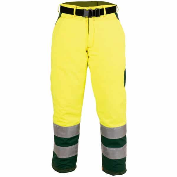 Pantalón anti-corte en en ropa de protección para motosierras