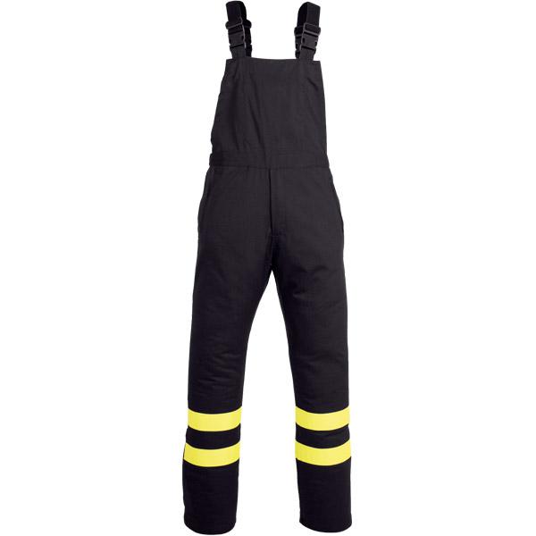 Pantalon tipo peto para ropa de protección contra atrapamiento