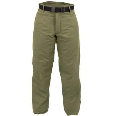 Pantalón con cremallera y botón anti-corte en ropa de protección