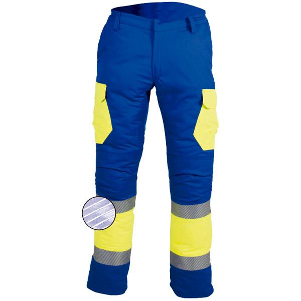 Pantalón retroreflectante en ropa de protección