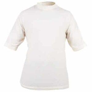 Ropa de trabajo, camiseta corta con cuello redondo en calor, llama y bombero forestal