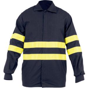Camisa cerrado con broches para ropa de protección contra atrapamiento