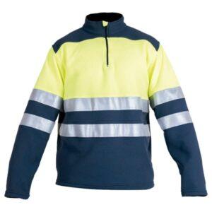 Jersey polar con abertura en ropa de protección de alta visibilidad