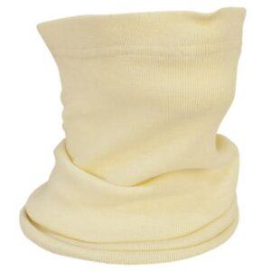Cubrecuellos elástico viscosa en ropa de protección para calor y llama y bombero forestal