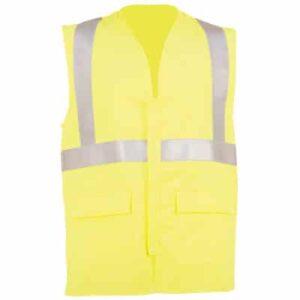 Chaleco reflectante de ropa de protección para calor llama y bombero forestal
