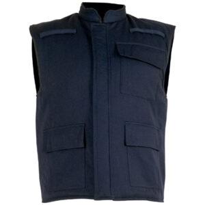 Chaleco acolchado en ropa de protección para calor, llama y gran salpicadura